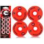 Kit Rodinhas Skate Moska 53mm+abec15 Blacksheep+ Espaçadores