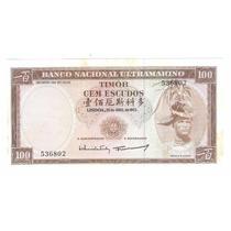 Timor, 100 Escudos, 1963.