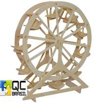 Quebra-cabeça De Madeira (4253)- Miniatura 3d - Ferris Wheel