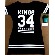 Vestido Annita Mc Kings Size 34 Sneakers Original