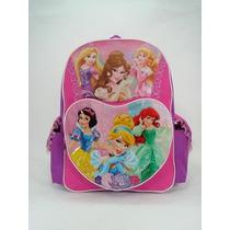 Mochila Escolar Princesas Disney - Lovely And Sweet 629298