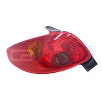 Lanterna Traseira Peugeot 206 04 A 09 Le Cibie