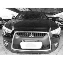 Mitsubishi Asx 2007 A 2012 Moldura De Grade Cromada Modelo O