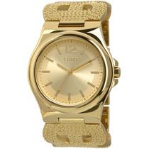 Relógio Euro Crochê Eu2035xzu/4d (aço Inox, Dourado, Analógi