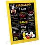 Arte Digital P Convite/ Lembrancinha/ Bandeirola/ Chalkboard