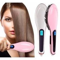 Escova Mágica Alisadora Fast Hair Straightenerprofissional