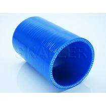 Mangote Silicone Reto 2,5 Polegadas X 100mm Pressurização