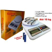 Balança Digital Eletrônica Pesa De 1gr Até 10kg Garantia