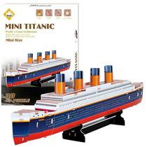 Quebra-cabeça Importado (6062) Puzzle 3d 30 Peças Titanic