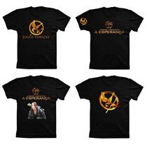 Camiseta Algodão Jogos Vorazes A Esperança Parte 2 Tordo