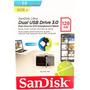 Pen Drive Sandisk Ultra 128gb Dual Drive Usb 3.0 150mb/s