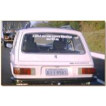 Adesivo Frase Personalizada Para Carro