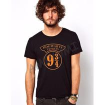 Camiseta Hogwarts Express Harry Potter Camisa Filme