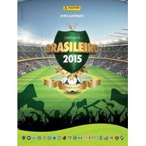 Album Campeonato Brasileiro 2015 Completo Capa Mole C/600fig
