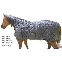 Capa De Inverno Para Cavalo Com Pescoceira , Selaria