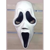 Máscara Do Pânico Em Latex- Fantasia Halloween Terror