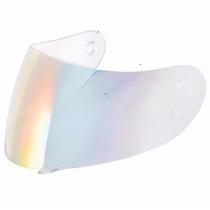Viseira Agv K3 K4 - Iridium Rainbow (camaleão - Arco-íris)