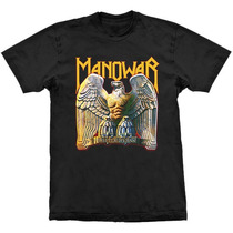 Camiseta De Banda - Manowar - Battle Hymns - Stamp