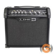 Cubo Amplificador Guitarra Line6 Spider Iv 15w 6 Efeitos