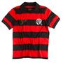 Camisa Polo Masculina Retrô Flamengo Especial Zico Oficial