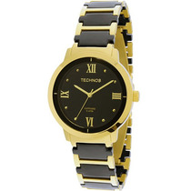 Relógio Technos Feminino Elegance Ceramic Safira 2035lwh/4p