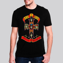 Camiseta Guns N Roses Cross Masculina - Ar