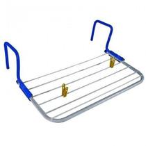 Varal Portátil Secar Roupa Pode Ser Usado Porta Janela Mor