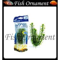 Planta Plastica Tetra Anacharis 15cm Fish Ornament