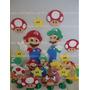 Kit Decoração Mario Bros Sob Encomenda