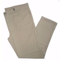Calça Branca 100% Algodão Masculina Plus Size Tam 38 A 54
