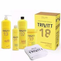 Cauterização Trivitt + Kit Completo Hidratação +frete Gratis