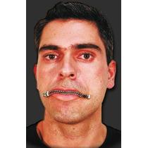 Dentadura Boca Zíper - Muito Engraçado - Frete Baratíssimo