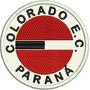 Tpr011 Colorado Paraná Pr Antigo Escudo Patch Bordado 9,5 Cm
