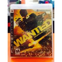 Jogo Wanted Playstation 3, Jogo Físico, Ação/tiro