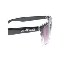 Oculos Santa Cruz Fifities Preto E Transparente Unissex