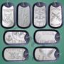 produto Dog Tag Placa Identificação Militar Gravação De Dados Grátis