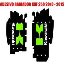 Adesivos De Radiador Kawasaki Kxf 250 ( 2013 - 2015 )