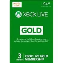 Live Gold 3 Meses Envio Na Hora
