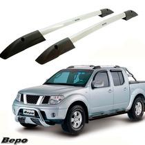 Longarina Teto Rack Executive Bepo Nissan Frontier Sel Prata