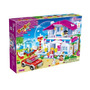 Brinquedo Blocos De Montar Banbao Casa Encantada 6103