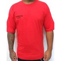 Camiseta Bombeiro Civil Vermelha - Padrão Evento