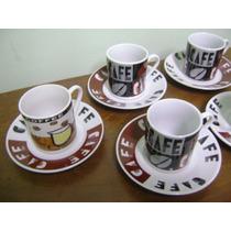 Conjunto 6 Xícaras Para Cafezinho - Lindo