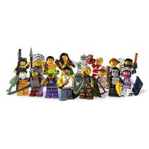 Lego Minifigures Series 3 Coleção Completa Lacrada 8803