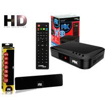 Conversor Digital Hdtv + Antena Digital Interna/externa
