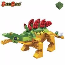 Bloco De Montar Dinossauro - Estegossauro - 128 Pçs - Banbao