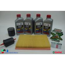 Troca Oleo Fox Gol Voyage 1.0 G5 G6 Castrol 5w40 100%sinteti