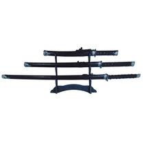 Kit 3 Espadas Katana Ninja+ Suporte Gratis + Frete Grátis