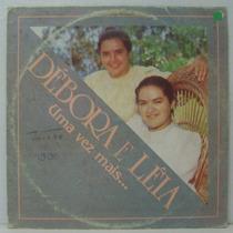 Lp Débora E Léia - Uma Vez Mais - 1990 - Voz Da Libertação