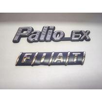 Kit Emblemas Palio Ex + Mala Fiat 98/00 - Bre