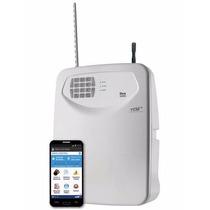 Central De Alarme Flex-1080 Com Discadora Gsm